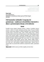 Od fonemske raščlambe i stapanja do premetanja – nedostaci u fonološkoj svjesnosti u djece s poremećajem čitanja u hrvatskome